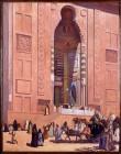 09-Bassedef_Cabanes_LaGrande Porte de la mosquée_hst_Montauban_Musee Ingres©G. Roumagnac